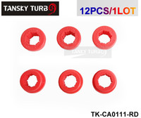 Wholesale Camber Kits - Sk2 Lower Control Arm Rear Camber Kit Replacement Bushings (Black   Red) Default Color is Red 12pcs TK-CA0111-RD