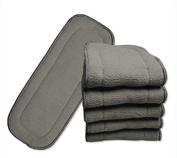 best selling Hot Sale 5 layers Bamboo Charcoal inserts Baby Changing Pads 15pcs lot free shipping