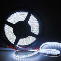 Wholesale Mail Wire - Free mail 3528 600 5M LED Strip SMD Flexible light 120led m indoor non-waterproof warm   white red green blue