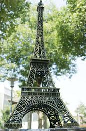 adereços da torre eiffel Desconto 72 CM (28.3 polegada) Tall Vintage 3D Paris Torre Eiffel Modelo de Metal Cor Bronze Artesanato para Fotografar Prop Home decoração de mesa de casamento Suprimentos