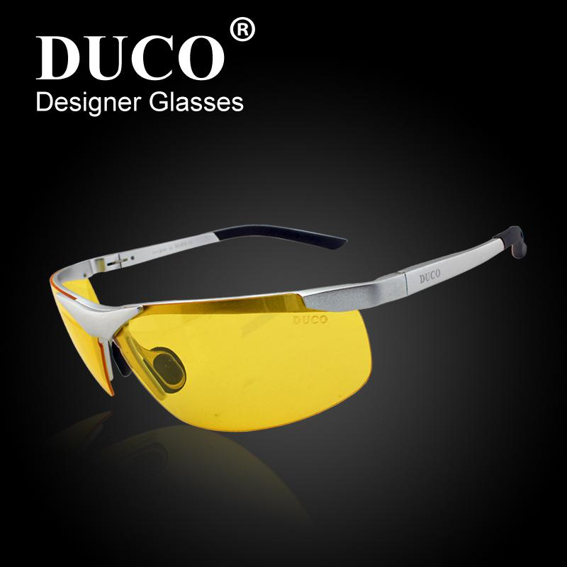 36f4063344 Duco Night Vision Glasses Men Night Driving Glasses Anti Glare Lens  Polarized Dusk Eyewear 6806Dropship Mirror Sunglasses Boots Sunglasses From  Moon0515