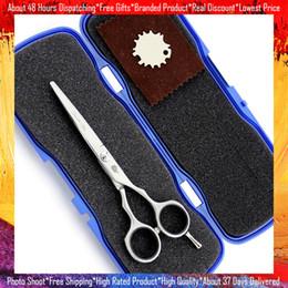 $enCountryForm.capitalKeyWord NZ - Professional Hair Scissors Flat Blade Cutting Scissor Hot Sale Smith Chu 5.5 Inch JP440C