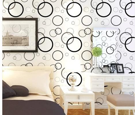 Wall Decalswaterproof Pvc Self Adhesive Wallpaper Bedroom Wallpaper Tv Backdrop Warm Sticky Glue Cabinet Renovation High Definition Wallpaper High