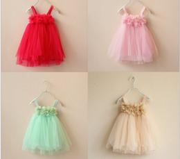Wholesale Kids Dress Designs Cotton - New Girls Dresses Cute Baby Girls Lace dress Wedding Dresses Design Kids Dress Children Clothing Baby Party Dresses Tutu Dress WD153