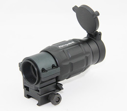 Tactical 3X Magnifier hunting Scope with Twist Mount fast release mount