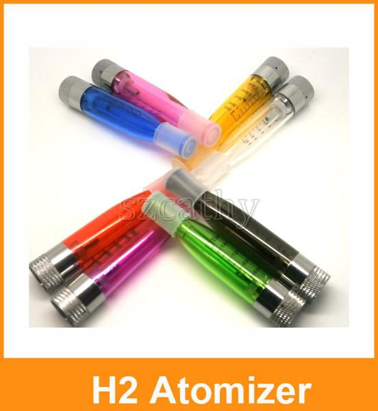 New GS-H2 Atomizer Clearomizer Colorful GS H2 Atomizer E-Cigarette Replace CE4 Cartomizer All For eGo-T eGo 510 Batter Series