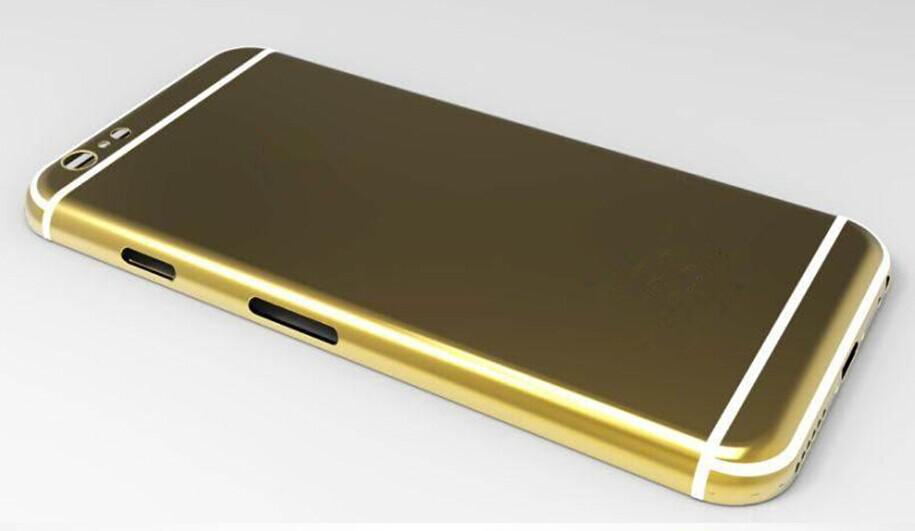 custodia iphone 6 oro
