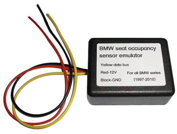 Para BMW Seat Occupancy Sensor Emulator Tool Simulador SRS Soporte Todos BMW Cars Desde 1997 hasta 2010 Serie OBD