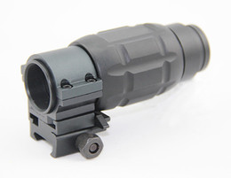Wholesale twist mount - Tactical 3X Magnifier hunting Scope with Twist Mount