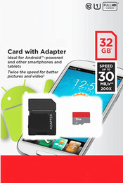 Wholesale Genuine Micro Sd Cards 32gb - New Genuine capacity 32GB Class 10 Micro SD SDHC UHS-1 Memory Card