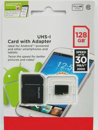 Wholesale Memory Cards 128gb - 64GB 128GB Class 10 Micro SD TF Memory Card Retail Blister Package micro SD SDHC 128G Card