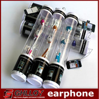 Wholesale Earphone Microphone 3g 4g - 3.5mm audio Metal in-ear earphone headphone Mic for iPhone 4 4g 4s 3G 3Gs 5 5g 5S 5C for iPod Samsung Note 3 HTC Colorful retail package 100
