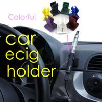 spinner ecigs großhandel-2104 NEU Auto Ecig Halter Halterung Basis Ecigs Auto Ecigs Halter Fit Ego EVOD Vision Spinner x6 Mods Batterie CE Zerstäuber