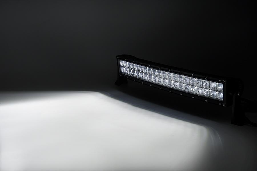 22 inch 120W LED Bar Curved Truck 4x4 SUV 4WD Car ATV Combo 3w Epistar Barre LED Off-road 12V LED Light Bar jk wrangler Curved Light Bar