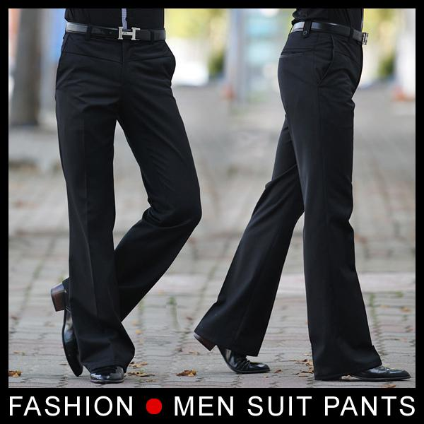 2019 Men S Flared Trousers Formal Pants Bell Bottom Pant