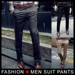 Wholesale Wool Colours - NEW men pants High quality, Men's Suit Pants ,casual slim men's pants (without belt) 3 colour