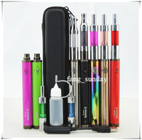 Wholesale Ego Twist Carry Case - E Cigarette Rainbow Vision Spinner II Vape Pens Starter Kits Mini Protank 1 eGo C Twist 2 Vaporizer Zipper Carry Case eCigs