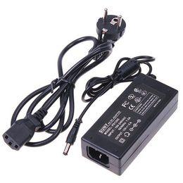 Wholesale power input - DC12V 5A Power Supply Adapter Transformers US EU UK AU , AC 100-240V input for 3528 5050 5630 LED light strip
