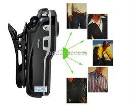 Wholesale Clip Mini Dvr - FreeShipping MD80+Bracket+Clip,Black Sports Video Camera Mini DVR Camera & Mini DV,High-Resolution Mini Camera Sports DV Drop Ship