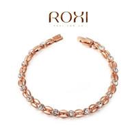 roxi armband großhandel-ROXI Exquisite Armbänder platinüberzug, hohe qualität produkte, beste Weihnachten schmuck geschenk, fabrik preis, neue stil, 2060802490