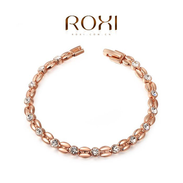 top popular ROXI Exquisite Bracelets platinum plating,High quality products,best Christmas jewelry gift ,factory price,new style,2060802490 2019