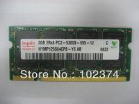 Wholesale Pc2 Sodimm - 4GB DDR2 667 RAM 2GB 2Rx8 PC2-5300S 4GB sodimm memory for ThinkPad X61t X61 X300 X100e X60S X60T X61S X300 X301 T43 notebook dedicated memor