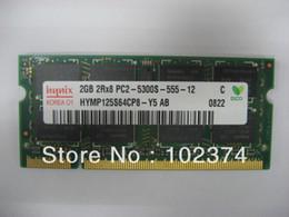 Wholesale Ddr2 667 Laptop Memory - 4GB DDR2 667 RAM 2GB 2Rx8 PC2-5300S 4GB sodimm memory for ThinkPad X61t X61 X300 X100e X60S X60T X61S X300 X301 T43 notebook dedicated memor