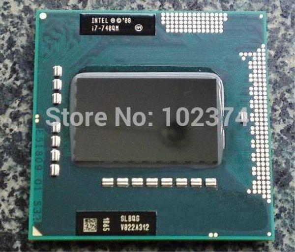 с i7 740QM ноутбук Intel сердечника i7-740QM процессор 6 м кэш, 1,73 ГГц до 2,93 ГГц PGA988 официальной версии поддержка PM55/ GM55 чипсет