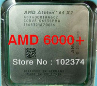 Wholesale Athlon 64 X2 Dual Core - 6000+ Original AMD CPU Athlon 64 X2 6000+ CPU 3.0GHz  AM2  940pin ADA6000IAA6CZ  DUAL-CORE  2MB L2 Cache Bulk 89w Free Shipping