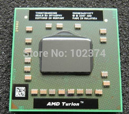 Wholesale Amd 64 Dual Core - RM72 CPU Turion 64 X2 Mobile AMD RM-72 2.1Ghz Socket S1 (638-pin) TMRM72DAM22GG AMD Turion 64 X2 notebook Processor
