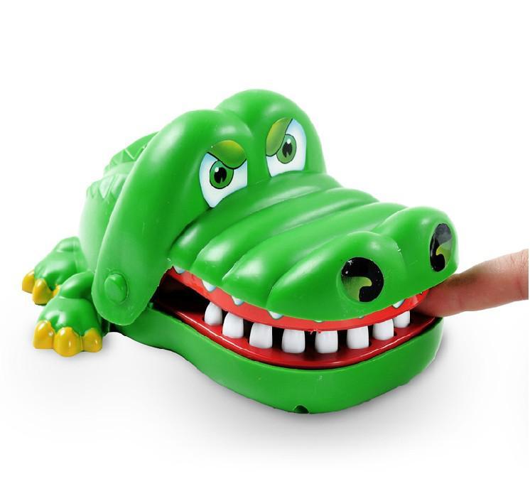 لعب الأطفال كبيرة سوف يعض أصابع فم كبير من التماسيح التمساح الأسنان لعب هذه اللعب خدعة الجدة itemsFree شحن