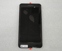 Wholesale Middle Blackberry - High Quality LCD 4G Black Screen & Digitizer Assembly+Middle Frame Assembly For Blackberry Z10 Free Shipping