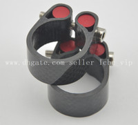 Wholesale Carbon Clamp - 3K Matte Or Glossy Carbon Fiber Road Mountain Bike Cycling Saddle Seat Post Clamp