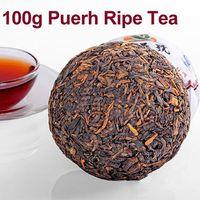 chá verde laranja venda por atacado-Chegam novas: Novo 100g Yunnan Menghai Puer Puer Chá Maduro Chá Tuo Cha Cozido 2012 Ano # 4 atacado