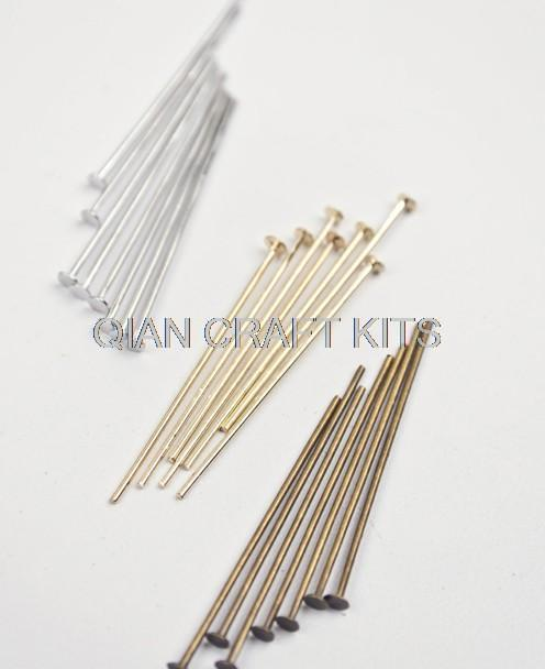 Antique Bronze Ball Head Pins 200pcs 20mmx0 5mm For Jewelry Finding