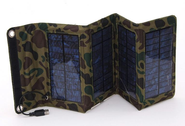 세련된 접이식 태양열 충전기 모바일 전원 태양열 충전기 새로운 도매에 대한 군사 특별한 보물