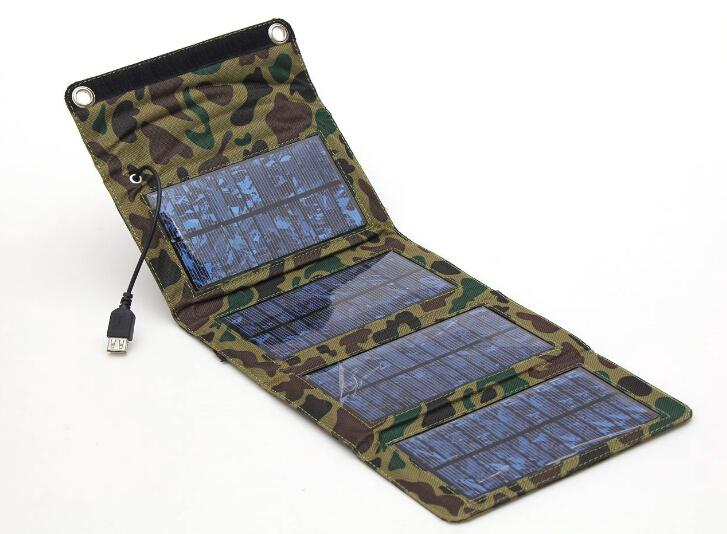 Military special treasure for stylish folding solar charger mobile power solar charger new wholesale