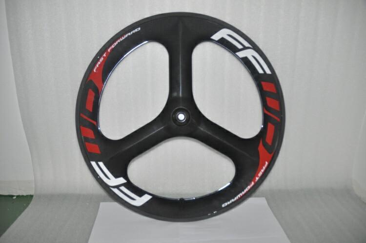 New Ffwd Fast Forward Full Carbon Wheels 3 Spokes Wheels