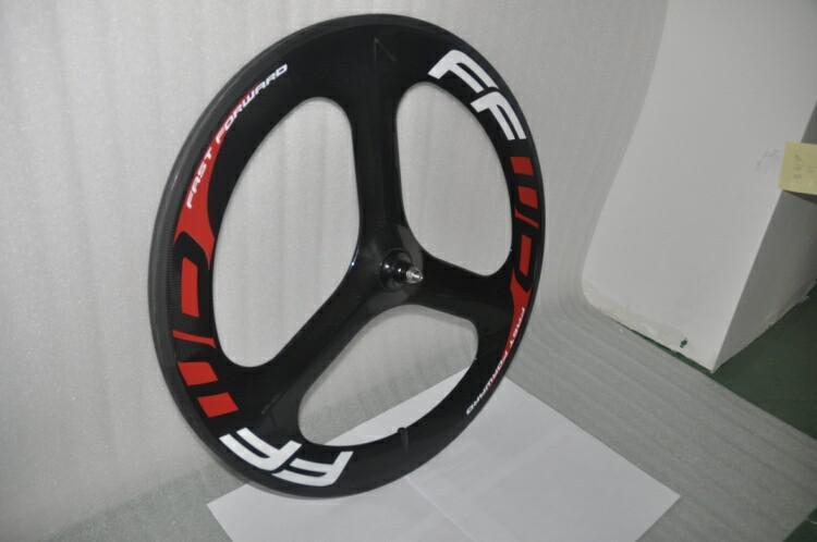 Nuovo FFWD Fast Forward completa Ruote Carbon 3 razze Ruote wheelset della bici della strada della bicicletta Ruote