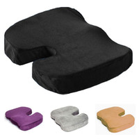 orthopedic seat solution - S5Q Hot Memory Foam Orthopedic Seat Back Ache Pain Office Chair Solution Cushion AAADUJ