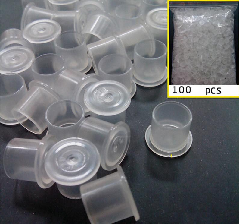 Small Medium Large Tattoo Ink Cups Caps Tattoo Pigment Cups Plastic Tattoo Inks Cups Tattoo Supplies Tattoo Inks