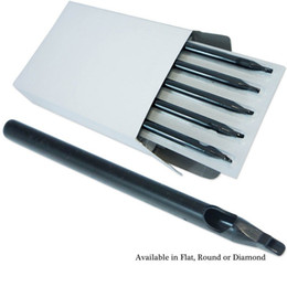 Les bouts jetables de bec stérile de bec de 300 PCS RT DT noir de longs bouts pour la taille de mélange de machine de tatouage