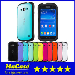 Wholesale S4 Case Hot New - New Hot iFace For iphone6 4.7'' Mall Candy Color Dirtproof Hard Cover PC TPU Case for 4S 5S galaxy S3 S4 S5 note3 grand2 With Retail Package