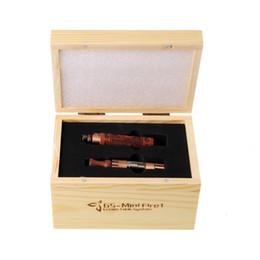 Mini kits de fuego online-Mini kit de madera cigarrillo electrónico mini fuego 1 kit de madera Batería electrónica atomizador mini batería de madera 650mah 900mah VS kit Protank 0211073