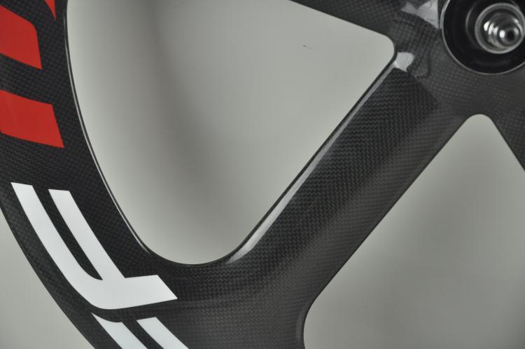 Bianco Nero Rosso FFWD Fast Forward Full Carbon Wheels 700C copertoncino 5 raggi della bicicletta della bici della strada Wheelset