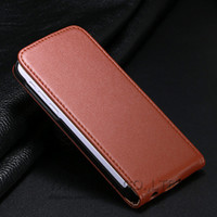 Wholesale Iphone5c Luxury - Luxury Genuine Leather Case For iphone 5C High Quality Flip Cases Protective Cover For iphone5C Free Shipping YXF03472