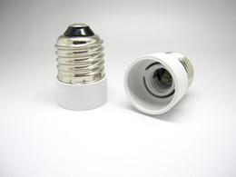Suporte da lâmpada on-line-Brand new E27 para E14 Suporte Da Lâmpada Bases Conversor Tomada Lâmpada Titular da Lâmpada Adaptador Plug Extensor ES para SES frete grátis