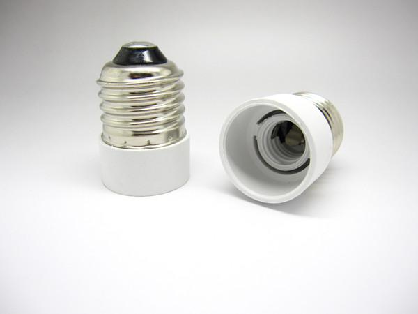 brand new E27 to E14 Lamp Holder Bases Converter Socket Light Bulb Lamp Holder Adapter Plug Extender ES to SES free shipping