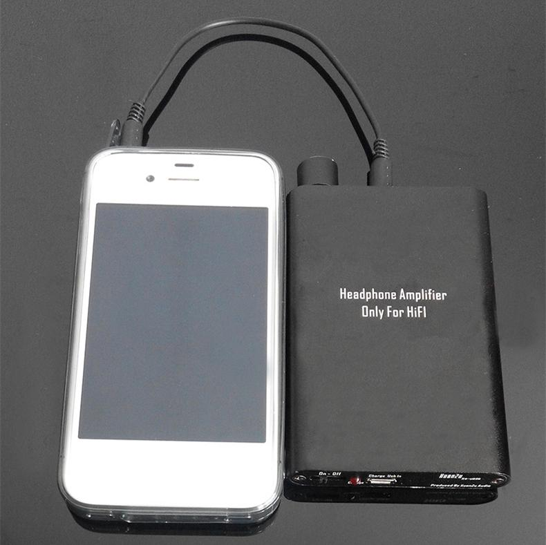 high performance portable headphone amplifier stereo hifi mini headhpone amp headset amplifiers. Black Bedroom Furniture Sets. Home Design Ideas