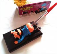 держатель для ручек для игрушек оптовых-Забавные электрические игрушки очень грязный Вилли, смотреть мне расти Ручка держатель декомпрессии вентиляционные новые игровые принадлежности